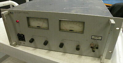 Hp Harrison 6268a Variable Regulated Dc Power Supply 0-40v 0-30a 19 Rack Mount