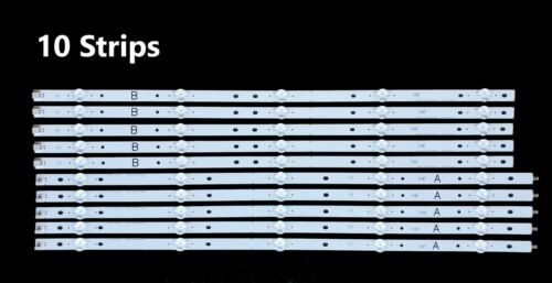 Sony 17Y 60UHD A B REV02 5LED Backlight Strips Full Set (10) KD-60X690E 170209