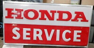 Honda Service Business Double Sided Lightbox Sign New