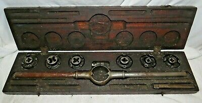 Vintage Wiley And Russell Tap And Die Set Original Box