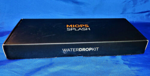 MIOPS SPLASH Full-Kit Smartphone Controllable Water Drop Photo Kit / NEW