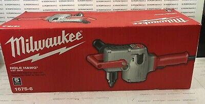 Milwaukee 1675-6 7.5 Amp 12 Hole Hawg Heavy-duty Corded Right Angle Drill