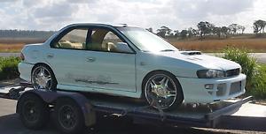 Subaru Wrx Jap Spec Turbo Rolling Shell Toowoomba Toowoomba City Preview