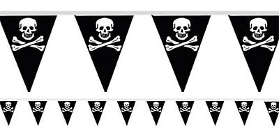 Jungen Mädchen Erwachsene Geburtstagsparty Feier Piraten Themen Fahnentuch ()