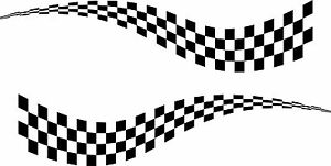 2-x-LARGE-CHEQUERED-FLAG-VINYL-STICKERS-3-SIZES-race-car-van-camper-decal