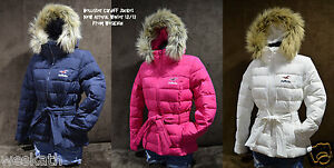 NWT-Hollister-HCO-by-Abercrombie-Womens-Cardiff-Fur-Hoodie-Winter-Coat-Jacket