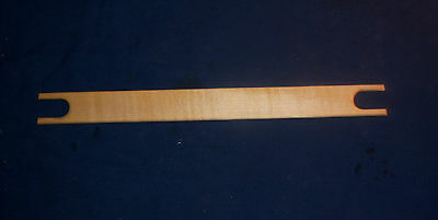 "Weaving Shuttle, 12"" Long,  Hard Maple"