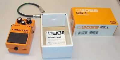 Boss DS-1 Distortion Guitar Pedal In Box