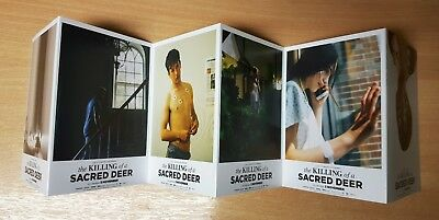 THE KILLING OF A SACRED DEER (2017) FILM MOVIE PROMOTIONAL 6 POSTCARD SET