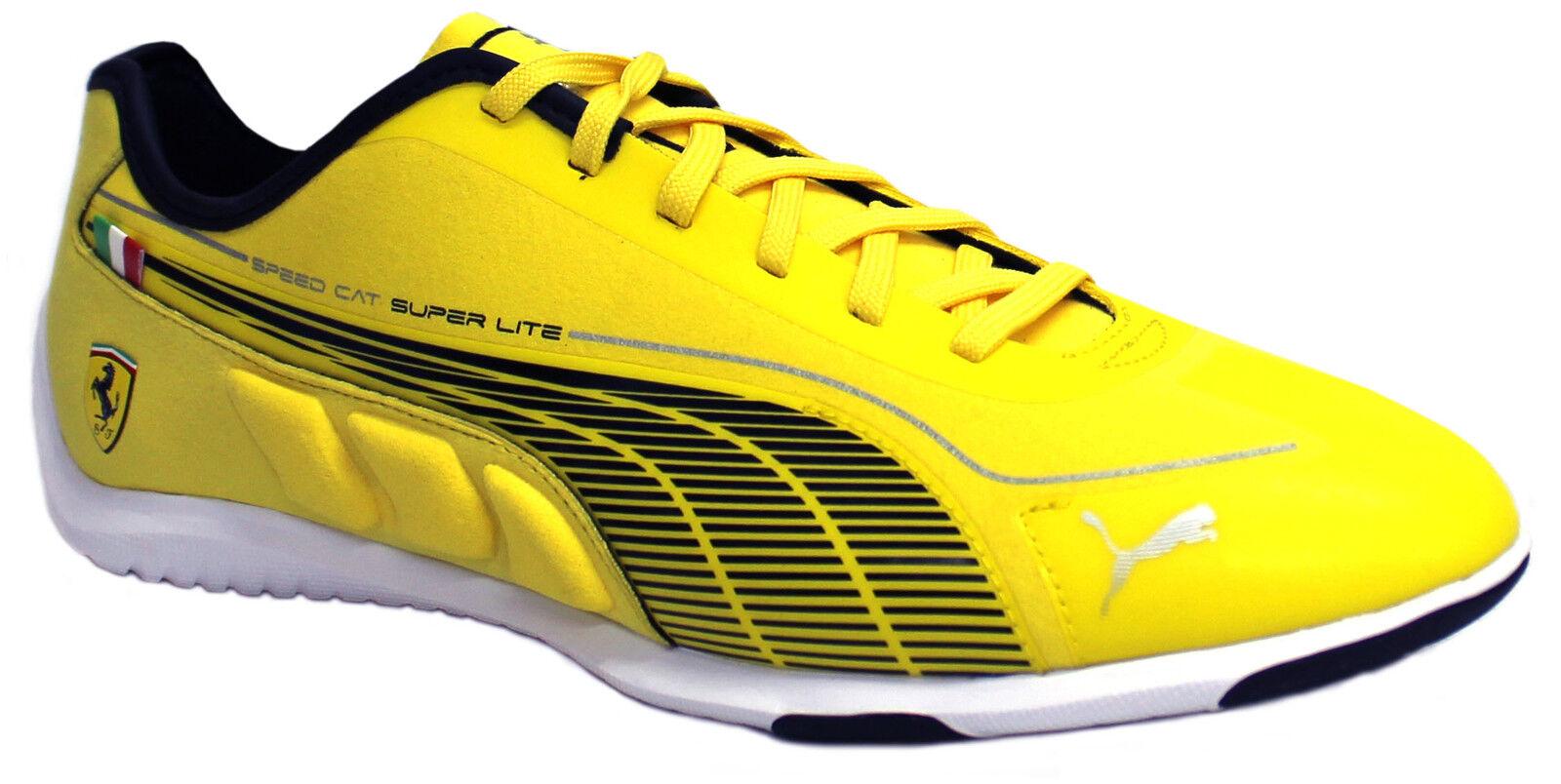 Puma Speed Cat Super Lite Low SF Yellow   Black Mens Trainers 304377 ... ed0f604c4174