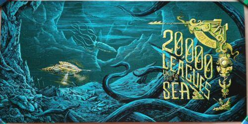 RAF BANZUELA - 20000 LEAGUES UNDER THE SEA Screen Print Poster /125 Bottleneck