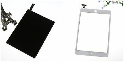 For Apple iPad Mini 1 LCD Display Screen + White Touch screen Digitizer