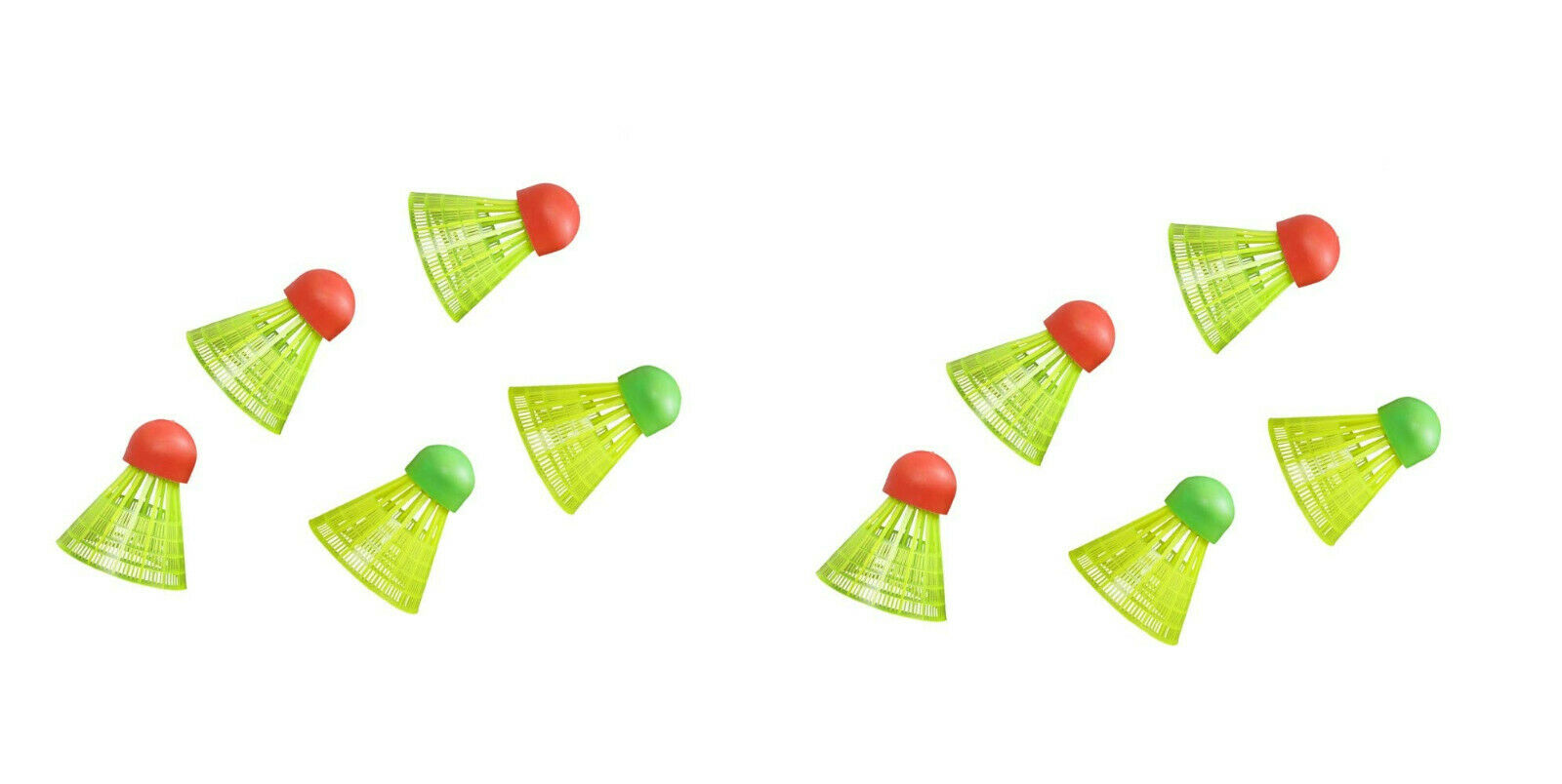 10x HUDORA Badminton Ersatzbälle Badmintonbälle 26- 2652
