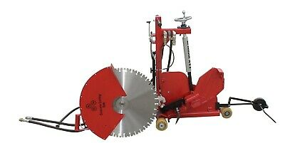 Concrete Cutting Walk Behind Push Adjustable Removable Handsaw 45 Degree - 24