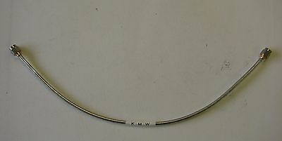 Kmw Dc-18ghz Sma Male To Sma Male Semi-rigid Cable Sms-bj141-12.0-sma12 Inches
