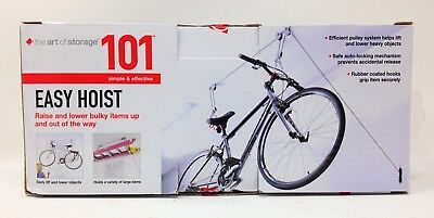 The Art of Storage 101 Easy Hoist Bicycle Bike Pulley System Model RS2200