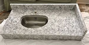 Granite Counter with Under-mount Sink
