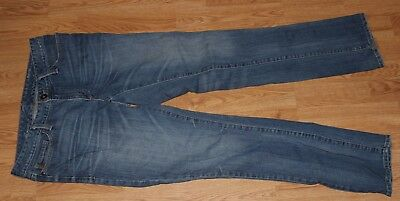 - EDDIE BAUER Blue Jeans Modern Fit Slim Straight Leg Stretch 31 x 31 SIZE 8