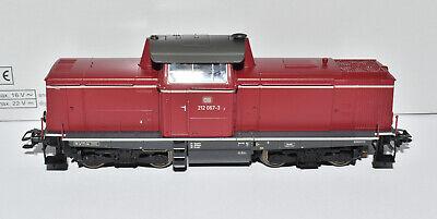 Märklin H0 37009 BR 212 (V100) Dieselok DB rot in Ep. IV mfx+ & Sound NEU & OVP