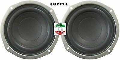 Coppia Mid-Woofer Ø Totale 15 Cm Compatibili con Standard 13/13.5 Cm 5/5.5