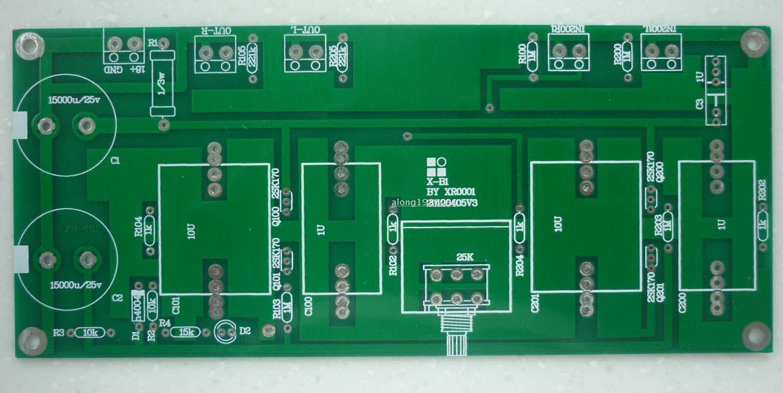 1pcs  b1-x1 Buffer preamp Bare PCB Base on pass B1 preamplifier