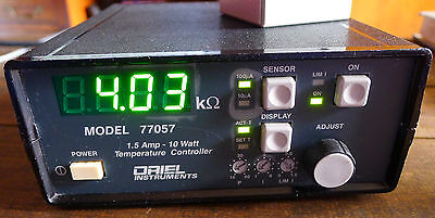 Oriel Newport 77057 Te Cooler Controller Tec - Tested - Works Perfect