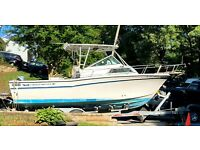 1986 Grady White Sailfish 254 25' Boat & Trailer - Maryland
