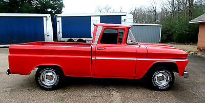 1963 Chevrolet C-10 1963 C10 CHEVY PICKUP GMC TRUCK SHORT BOX V8 C/K 1500 OTHER BIG BACK GLASS C-10
