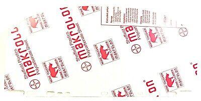 Makrolon 9194 Clear Polycarbonate Sheet For Helmet Visor 19-14 X 9 X .05