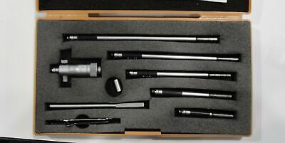 Mitutoyo Id Inside Micrometer Set 0 To 8 Made In Japan Wcase Machinist Tools