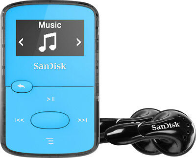 SanDisk - Clip Jam 8GB* MP3 Player - Blue