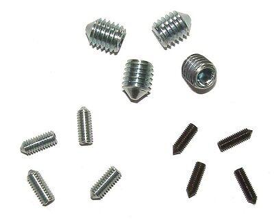 4 x Madenschraube M3 M4 M5 M6 M8 M10 oder M12 Madenschrauben Gewindestift Stifte