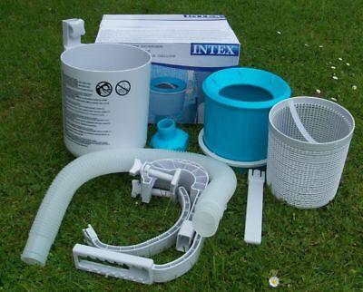 Skimmer Intex Oberflächenskimmer Oberflächensauger Einlaufdüse Pool Filter 28000