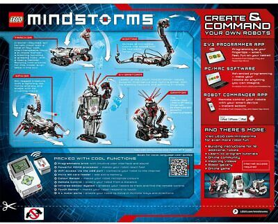 LEGO 31313 Mindstorms EV3 10+ NEW STEM Make your own ROBOT Action Programmable