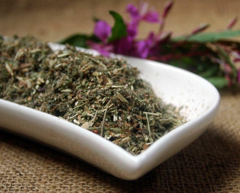 Krauterino24 - Weidenröschen kleinblütig geschnitten Weidenröschentee - 500g