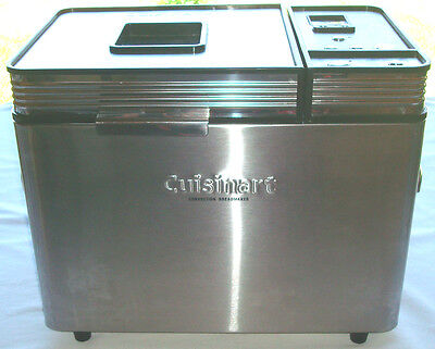 Cuisinart CBK-200 Stainless Steel Convection Bread Maker Machine  2lb Loaf