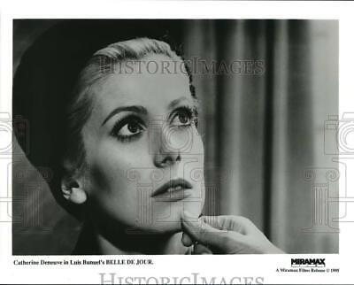 """1995 Press Photo Actress Catherine Deneuve in Luis Bunuel's """"Belle De Jour"""""""