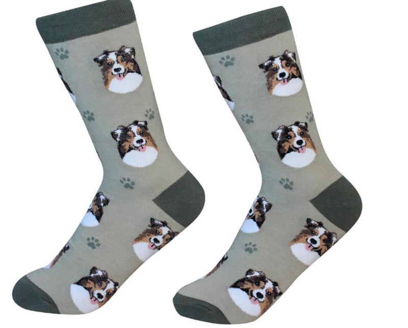 Australian Shepherd Socks Unisex