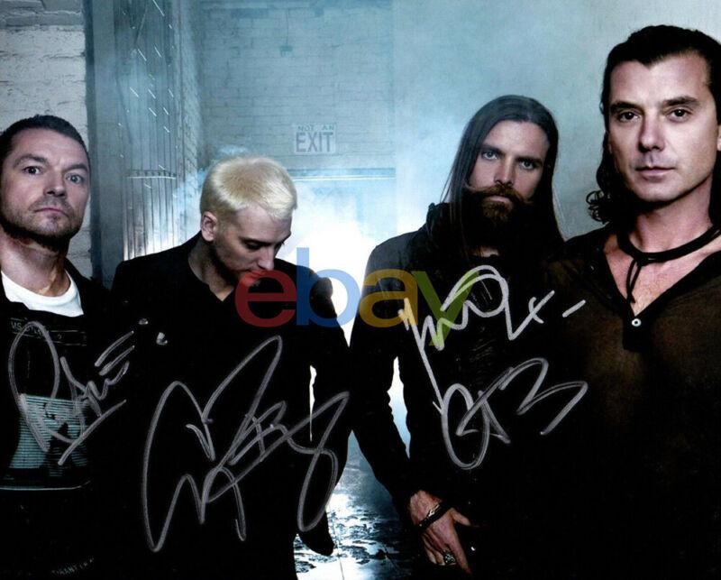 BUSH Gavin Rossdale Rock Band Signed 8x10 Photo reprint