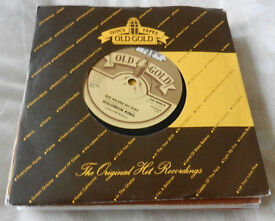 """Joblot 7"""" Singles x 19 """"Old Gold Label"""" Not Tested (All Listed)"""