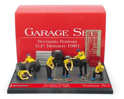 1:43 Scuderia Ferrari F1 Monaco 1981 1/43 • BRUMM GS01