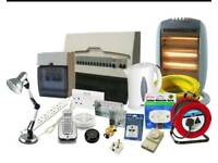 Electrical works, Fire and security systems