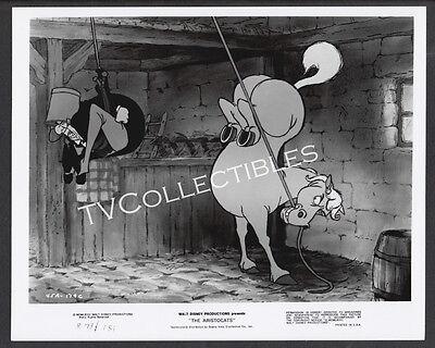 8x10 Photo~ Disney's THE ARISTOCATS ~Edgar butler ~Frou-Frou the horse ~Cartoon