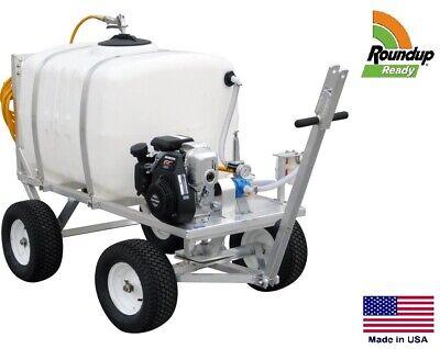 Sprayer Commercial - Trailer Mounted - 200 Gallon Tank - 5 Hp - Roundup Ready