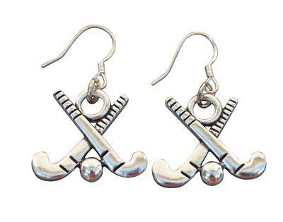 Field Hockey Earrings- Field Hockey Jewelry - Girl Field Hockey Players Gift