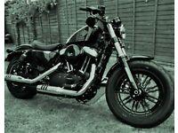 Harley-Davidson XL 1200 X FORTY EIGHT 17 BLACK