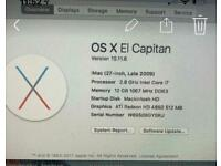 Apple IMac 27inch late 2009