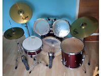MAPEX V Series 5 Piece Drum Kit (with Solar Symbols)