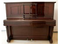 Chappell London Upright Piano 1900s Dark Wood