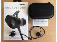 Bose Soundsport Headphones c/w Charging Case
